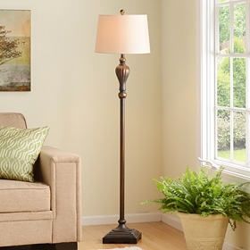 Esquire Bronze Floor Lamp