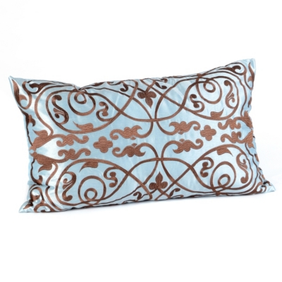 Louis Blue & Brown Pillow