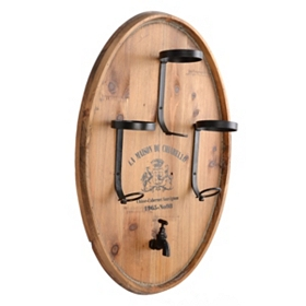 Barrel Top Wine Rack