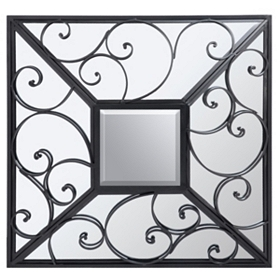 Bowery Mirage Wall Mirror, 36x36