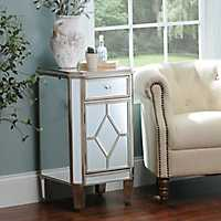 Manhattan Mirrored Nightstand