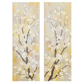 Balance Canvas Art Print, Set of 2