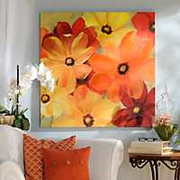 Sunshine Splash Canvas Art Print
