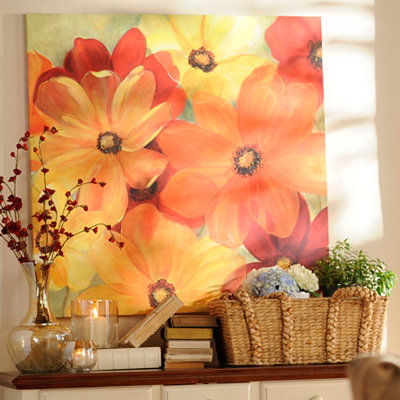 Sunshine Splash Canvas Art Print