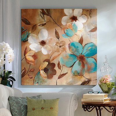 Garden Glow Canvas Art Print