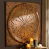 Spice Rosette Wall Plaque