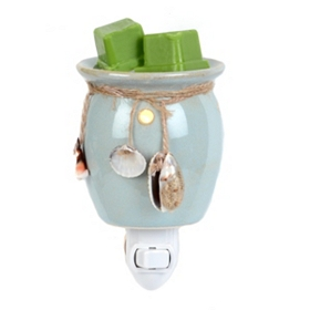 Ceramic Coastal Tart Burner Night Light