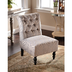 Taupe Archipelago Accent Chair