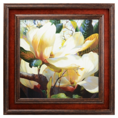 Fragrant Spring Framed Art Print