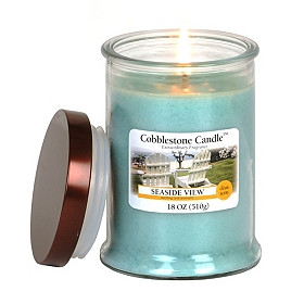 Sea Side View Jar Candle