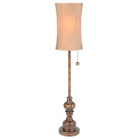 Mocha Buffet Lamp
