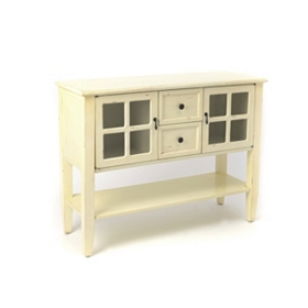 Antique White Elliot Console Table