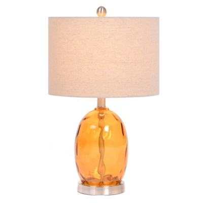 Clementine Dimpled Glass Table Lamp