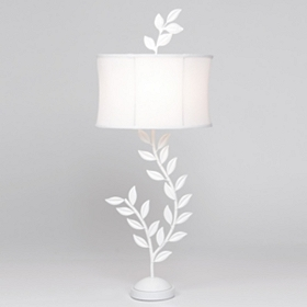 White Tree Branch Table Lamp