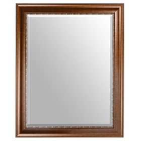 Bronze Wall Mirror, 38x48