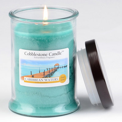 Caribbean Waters Jar Candle