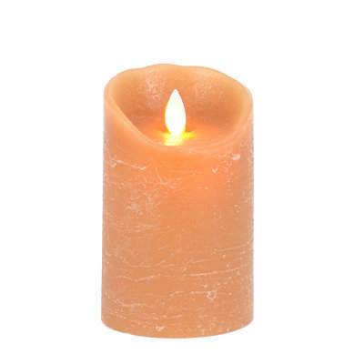 Caramel LED Flameless Candle, 5 in.