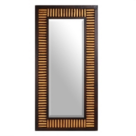Webster Wood Wall Mirror, 24x48