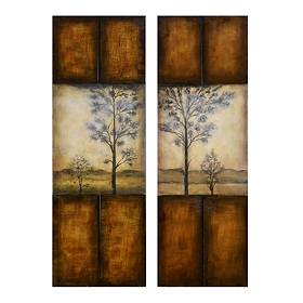 Winneke Canvas Art Print, Set of 2
