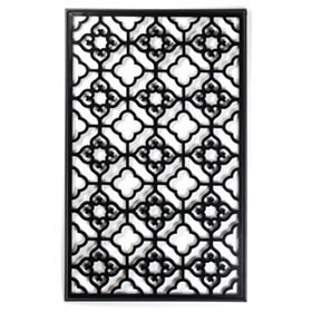 Lattice Metal Wall Art