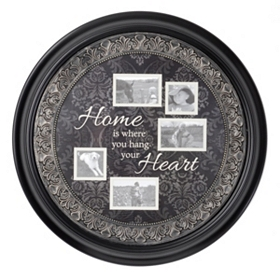 Home Sentiment Black Collage Frame