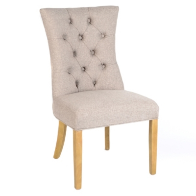 Martini Linen Accent Chair