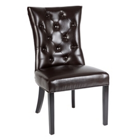 Martini Leather Accent Chair