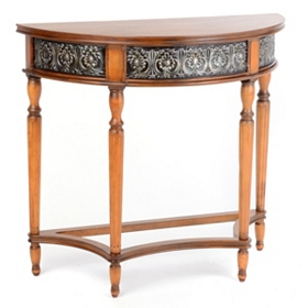 Estes Demilune Console Table