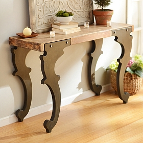 Jackson Industrial Console Table