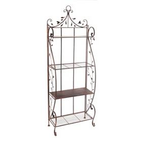 Bronze Vine Baker's Rack