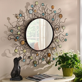 Mermaid Metal Mirror