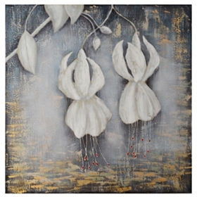 Sleeping Lily Canvas Art Print