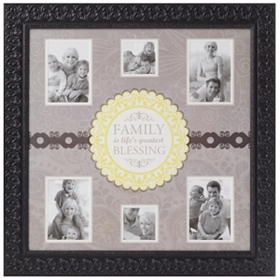 Family Blessings Collage Frame