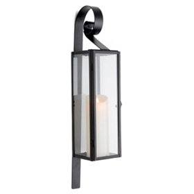 Indoor/Outdoor Lantern Sconce