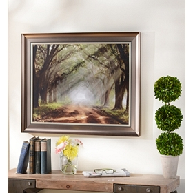 Evergreen Plantation Framed Art Print