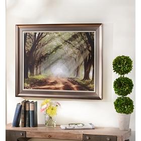 Evergreen Plantation Framed Art Print