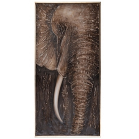 Najia Elephant Canvas Art Print