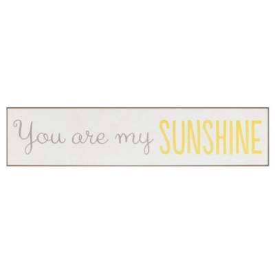 You Are My Sunshine Wall Quote