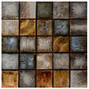 Textured Tiles Canvas Art Print