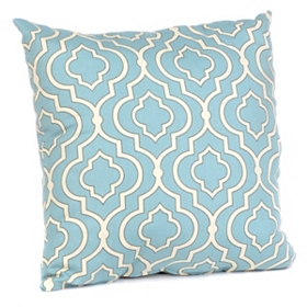 Donetta Sky Blue Pillow