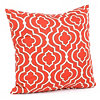 Donetta Brick Red Pillow