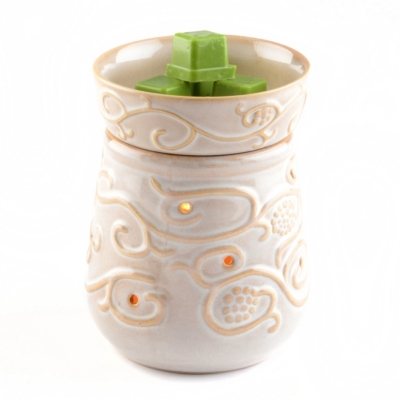 Sand Scroll Wax Warmer