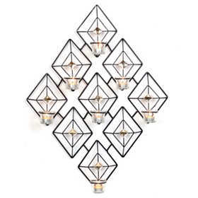 Diamond Gem Tealight Holder