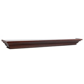 Mahogany Wall Ledge, 48 in.