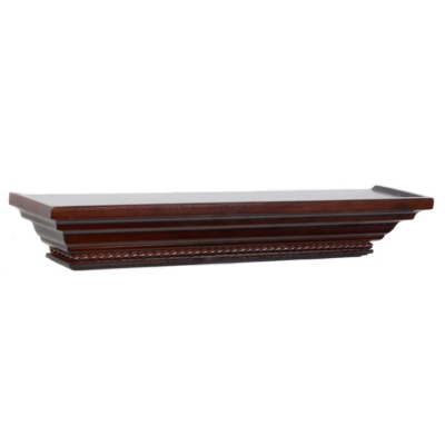 Dark Mahogany Wall Ledge, 24 in.