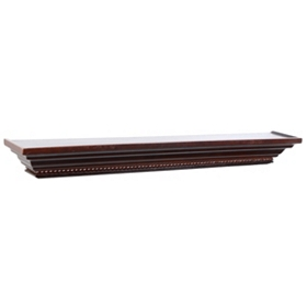 Dark Mahogany Wall Ledge, 36 in.