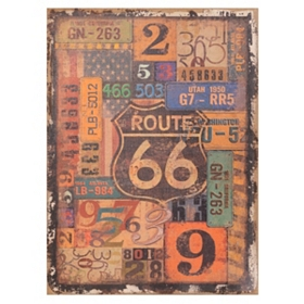 Route 66 Canvas Art Print