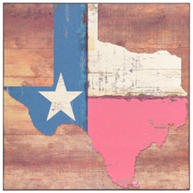 Texas State Flag Plaque