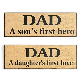 Dad Wall Plaques