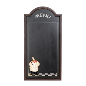 Chef's Menu Chalkboard Plaque